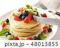 ケーキ 料理 食事の写真 48013855