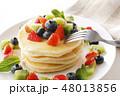 パンケーキ ホットケーキ ケーキの写真 48013856