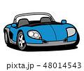 ベクター 自動車 車のイラスト 48014543