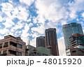 《東京都》爽やかな大空・六本木都市風景 48015920