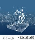 ハイテク テクノロジー サイバーのイラスト 48016165