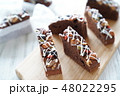 チョコレートブラウニー 48022295