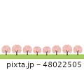 桜 花 春のイラスト 48022505