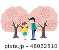 桜 お花見 花のイラスト 48022510
