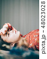 人物 女性 若い女性の写真 48023028