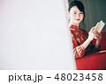 女性 若い女性 アジア人の写真 48023458