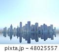 都会 都市 ビル群 高層ビル ダウンタウン CG 48025557