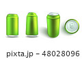 カン 缶 缶詰めのイラスト 48028096
