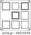 広場 正方形 スクエアのイラスト 48029349