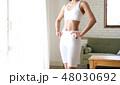 スリム お腹 女性の写真 48030692