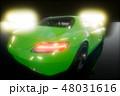 車 自動車 スーパーカーのイラスト 48031616