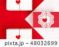 バレンタイン 赤 クリスマスの写真 48032699