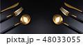 カトラリー 刃物 金の写真 48033055