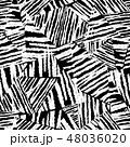 モノクロ 白黒 シームレスのイラスト 48036020