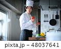 キッチン シェフ 1人の写真 48037641