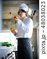 キッチン シェフ 男性の写真 48038023