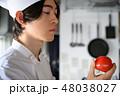 キッチン シェフ 人物の写真 48038027