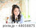 ライフスタイル 女性 アジア人の写真 48038875