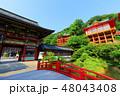 日本三大稲荷 楼門 祐徳稲荷神社の写真 48043408