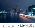 東京隅田川の夜景 48044151