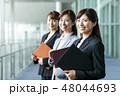 ビジネス 女性 オフィスの写真 48044693
