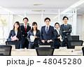 ビジネスマン ビジネス ビジネスウーマンの写真 48045280