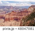 アメリカ合衆国 アリゾナ州 グランド・キャニオン マーサー・ポイントにて 48047081