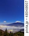 富士山 雲海 世界文化遺産の写真 48048607