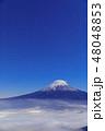 世界遺産 富士山 雲海の写真 48048853