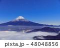 世界遺産 富士山 雲海の写真 48048856