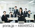 ビジネスウーマン ビジネス ビジネスマンの写真 48049521