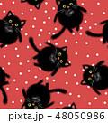 ねこ ネコ 猫のイラスト 48050986