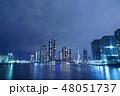 東京隅田川の夜景 48051737