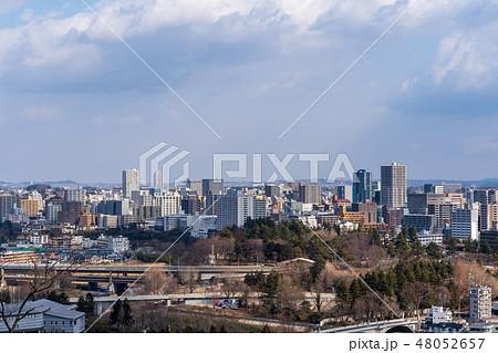 仙台市街 仙台城跡からの俯瞰 48052657