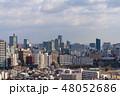 俯瞰 市街 街並みの写真 48052686