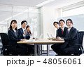会議 ビジネスマン ビジネスの写真 48056061