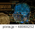 人工知能 AI プログラムのイラスト 48060252