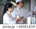 キッチン 厨房 2人の写真 48061639