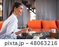 レストラン 飲食店 コーヒーの写真 48063216