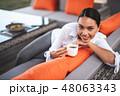 コーヒー 女性 女の写真 48063343