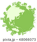 街並み エコ エコロジーのイラスト 48066073