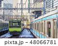 山手線 電車 列車の写真 48066781