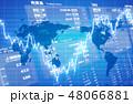 経済イメージ素材 48066881