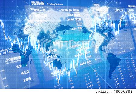 経済イメージ素材 48066882
