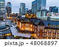 東京駅 夕景 東京の写真 48068897