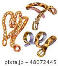 ベルト チェーン 鎖のイラスト 48072445