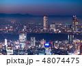 東京 新宿 都市の写真 48074475