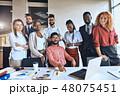ビジネス グループ 集団の写真 48075451