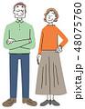 高齢者 シニア 老夫婦 48075760