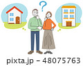 高齢者 シニア 老夫婦 住居 48075763